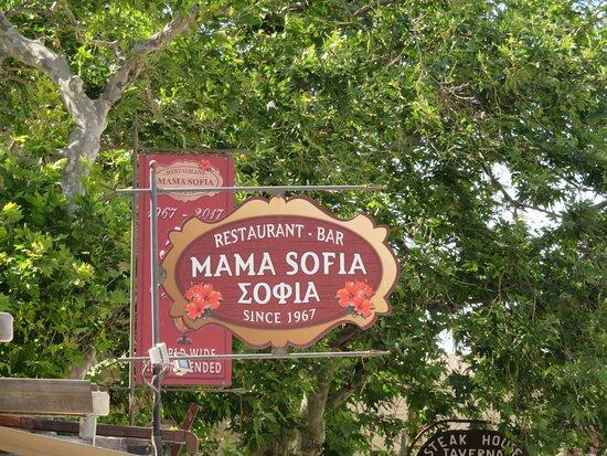 GR: Ródos; Mama Sofia Restaurant
