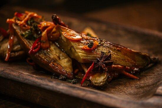 Josper grilled seasonal vegetables