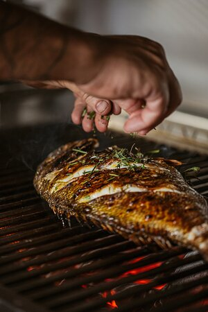 Grilled fish of the day