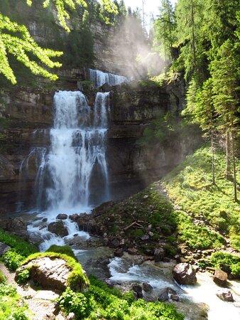 La cascata di Mezzo