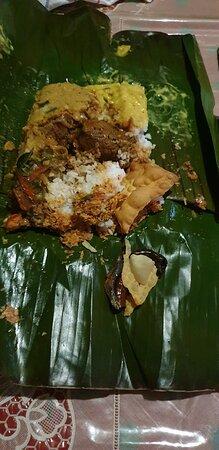 Rajagiriya, סרי לנקה: Rice and curry