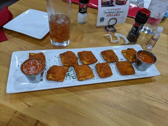 Crispy Cheese Raviolis.