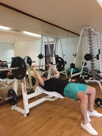 I was really impressed with the gym!