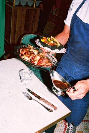 Cuisine traditionnelle française.