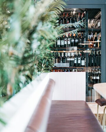 An extensive drinks (and wine) list