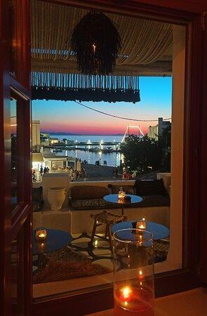 SKYBAR & 54 terrace view