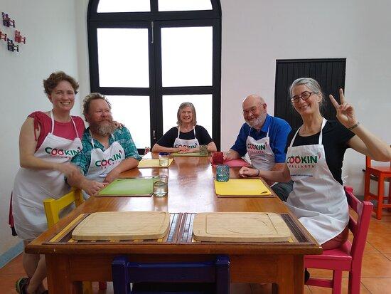Puerto Vallarta Cooking Class: Market Tour, Lesson and Tastings: Mi familia!