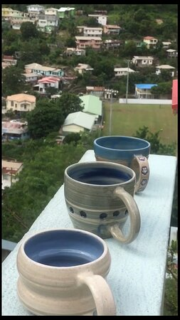 The Blue Sky Mugs of Canaries