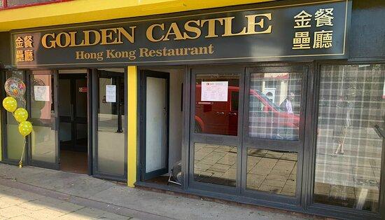 Golden Castle Entrance