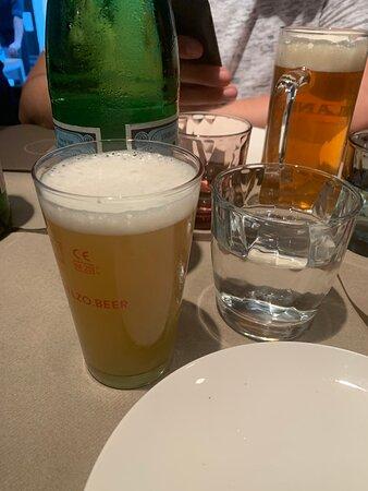 Birra bionda media