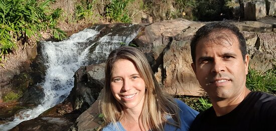 Foto tirada na cachoeira dos Amores #casaldeca1