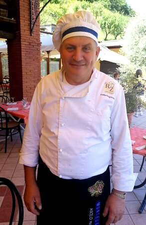 Lo chef Celestino Valaperta