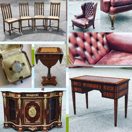 Antique and vintage furniture, smalls and jewels! You can find it all at our warehouse or online.  Check out our 2000+ items online with delivery available or if you see something you wish to view then give us a call or send us a message and we can book you in to view the said item or items.  07949008022/ 01279723300/ info@antiqueandchic.com