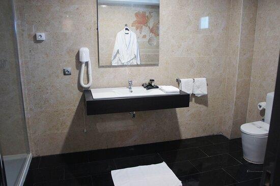 Nouadhibou, מאוריטניה: Toilettes Hotel Tasiast Nouadhibou Mauritanie