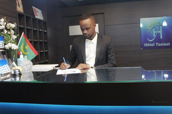 Nouadhibou, מאוריטניה: Acceuil Hotel Tasiast Nouadhibou Mauritanie