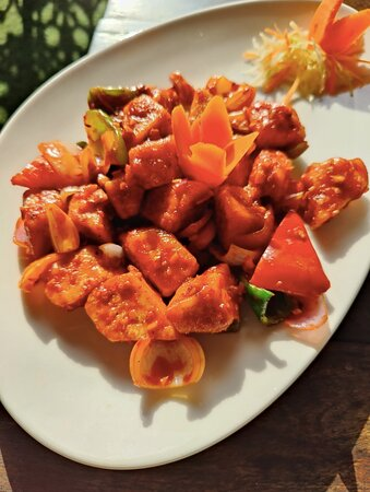 Wok Tossed Cottage Cheese