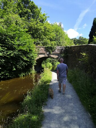 Lovely walk along the canal
