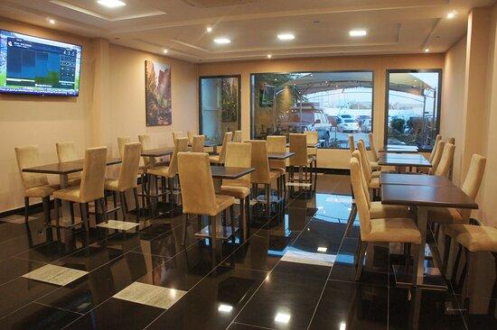Nouadhibou, מאוריטניה: salle de dîné, Hotel Tasiast Nouadhibou Mauritanie