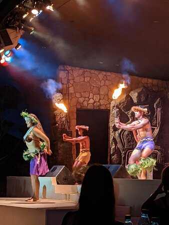Such a great show at the luau!