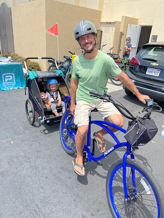 Irvine, CA: Dad and son rides are best.