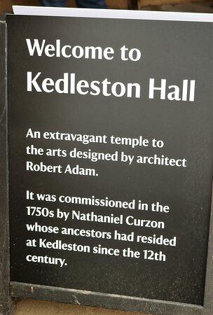 1.  Kedleston Hall, Kedleston, Derbyshire