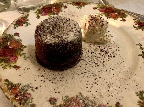 L'Ancora - PIATTI - tortino di cioccolato