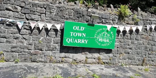 Old Town Quarry nameplate