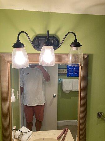 missing bulb?