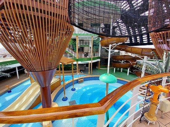 MSC Seaside: aqua park