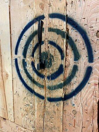underhand bullseye