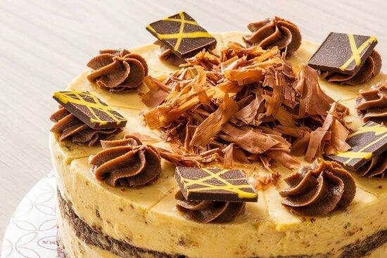 Torta brownie arequipe