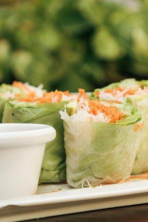 Vietnamese rolls.