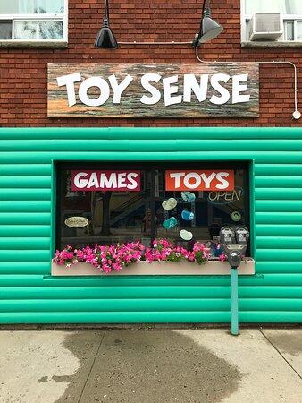 Toy Sense at 309 Bay Street, Thunder Bay, Ontario, Canada.