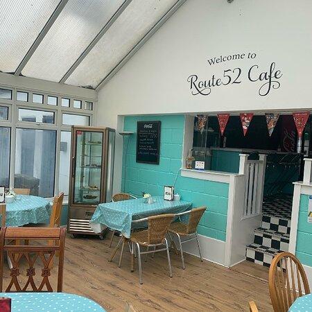 גרנת'הם, UK: Cafe