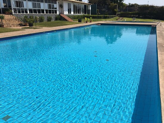 The pool is usually emptied in June, the coldest month