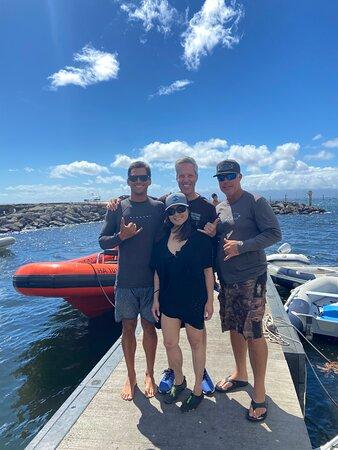 מאווי, הוואי: My boo and the crew of Ocean Riders 