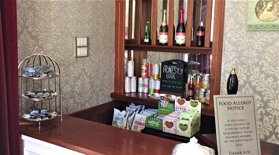 Buxton, UK: Kingscroft Honesty Bar (Alcohol free)