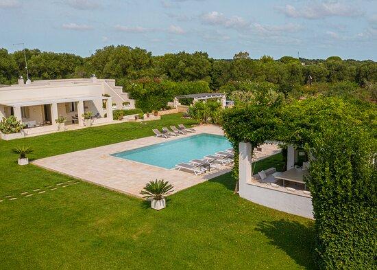 villa Puglia piscina e pool house