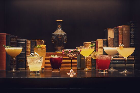 A vanity shot of our specialty cocktails