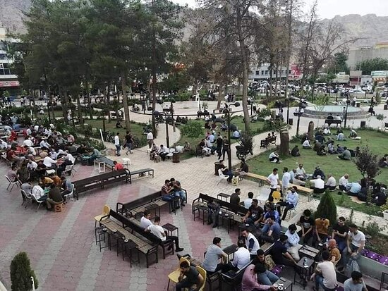 סולימאניה, עיראק: Daily public garden of Rania