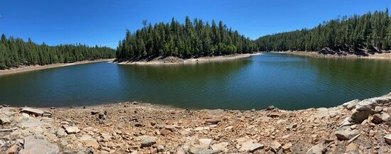 Willow springs Lake and Blue Ridge Reservior are open!  Come on up and cool off!