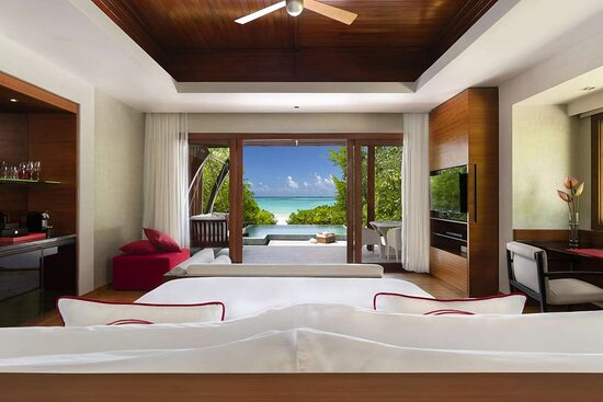 Beach Pool Villa with ocean view