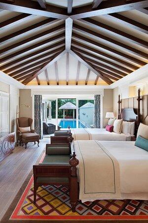 One-Bedroom Pool Villa - Double/Double Bedroom
