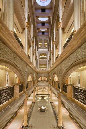 Emirates Palace Fountain Corridor