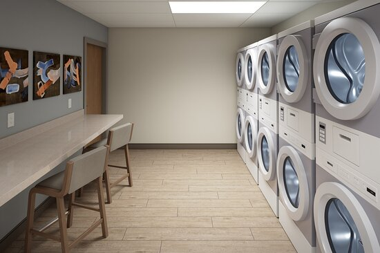 Keep The Change And Enjoy Our Free Guest Laundry Facility