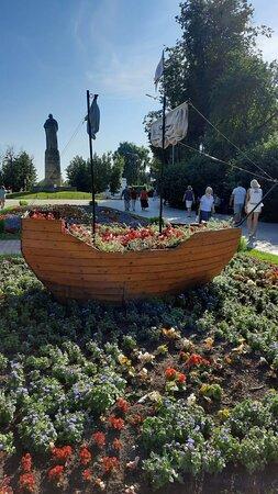 По дороге к памятнику Ивану Сусанину