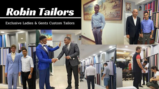 Dear Customers, during the covid-19 situation we offering home service to our clients. If you want to know about home service details, pls contact us-  WhatsApp +6685 110 1080  www.robintailors.com
