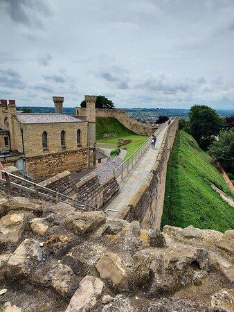 The Lincoln Castle Wall Walk (04/Jul/21).