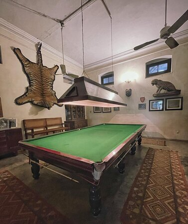 Billiards room The Fort Unchagaon, By Aspen