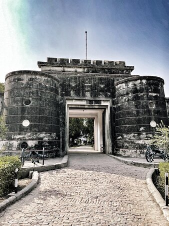 Main entrance of the Fort